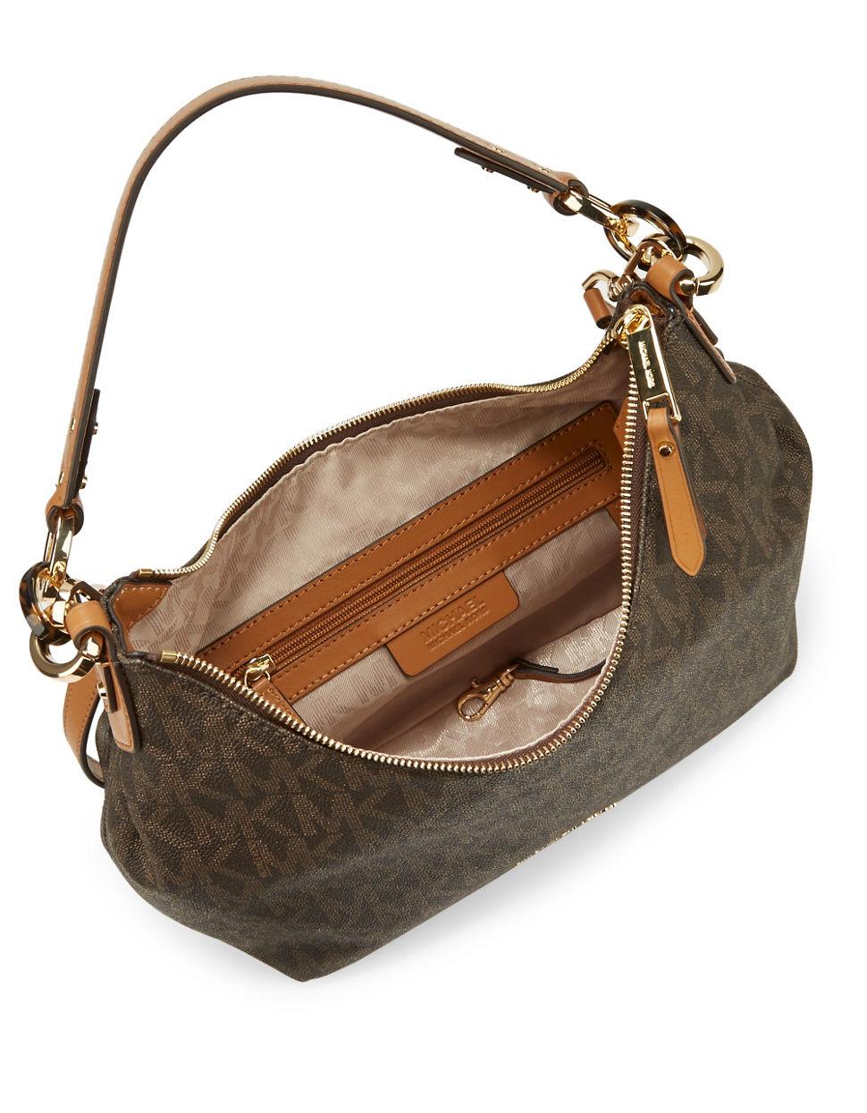 13907d76cde1 Lyst - MICHAEL Michael Kors Isabella Medium Shoulder Bag in Brown