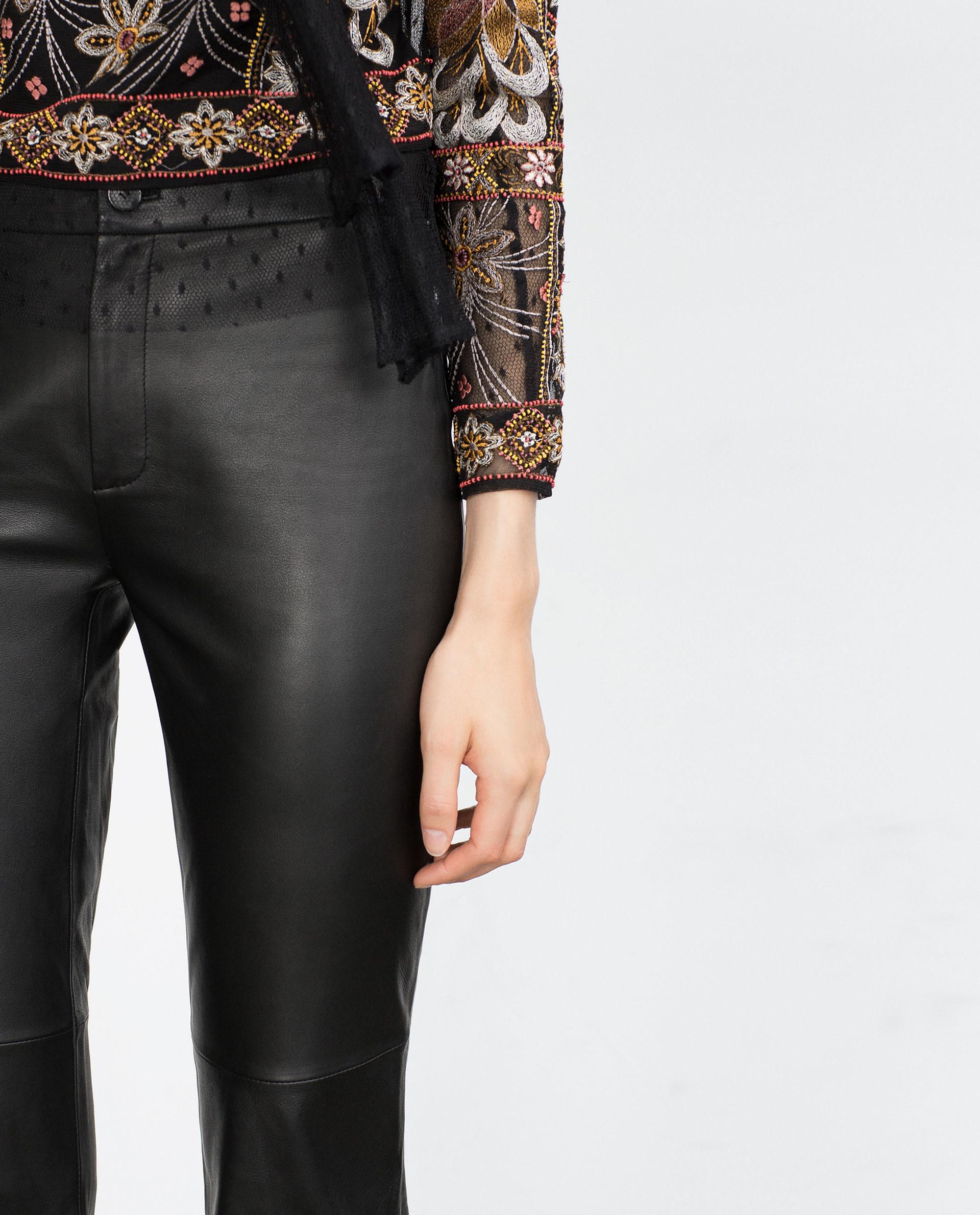 Brilliant Women39s Black Leather Pants Women39s Faux Leather Pants Women39s Le