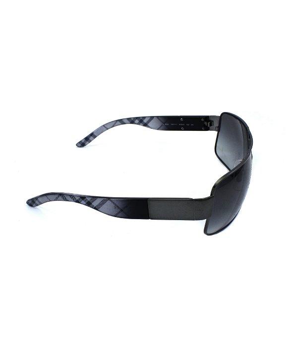 091007211d4 Lyst - Burberry Aviator Metal Sunglasses in Metallic