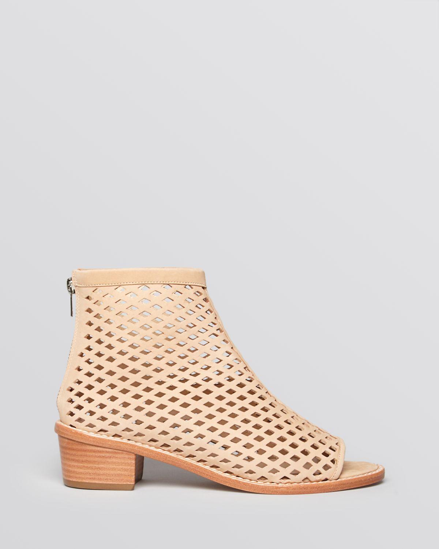 Loeffler Randall Peep-Toe Ankle Boots cheap sale sast LfqvBwsCx