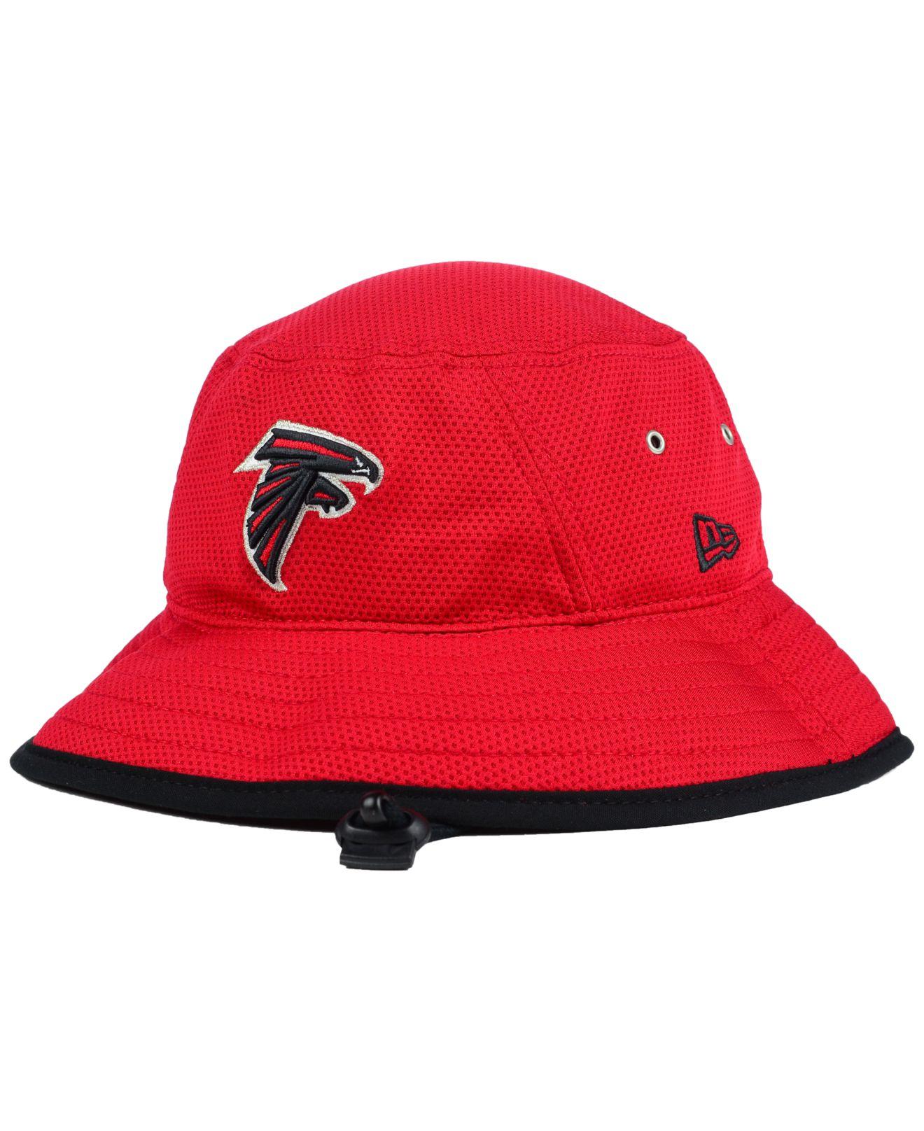 Lyst - KTZ Atlanta Falcons Training Bucket Hat in Red for Men bfcc1130e334