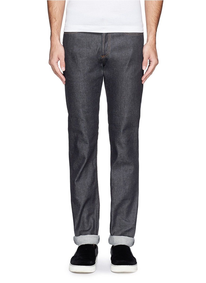 Givenchy Classic Straight Leg Jeans in Blue for Men | Lyst