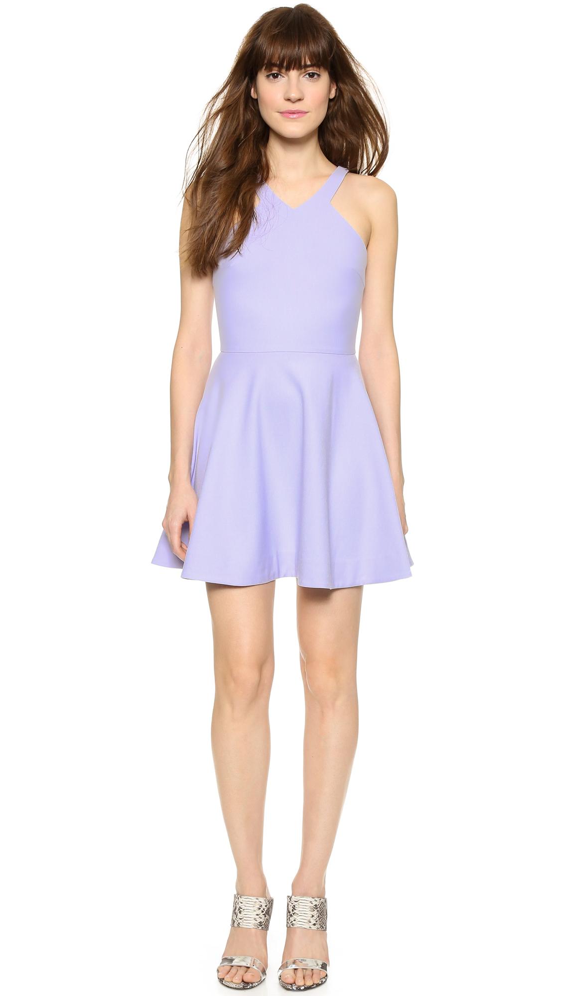 lyst elizabeth and james sonya dress lavender in purple. Black Bedroom Furniture Sets. Home Design Ideas