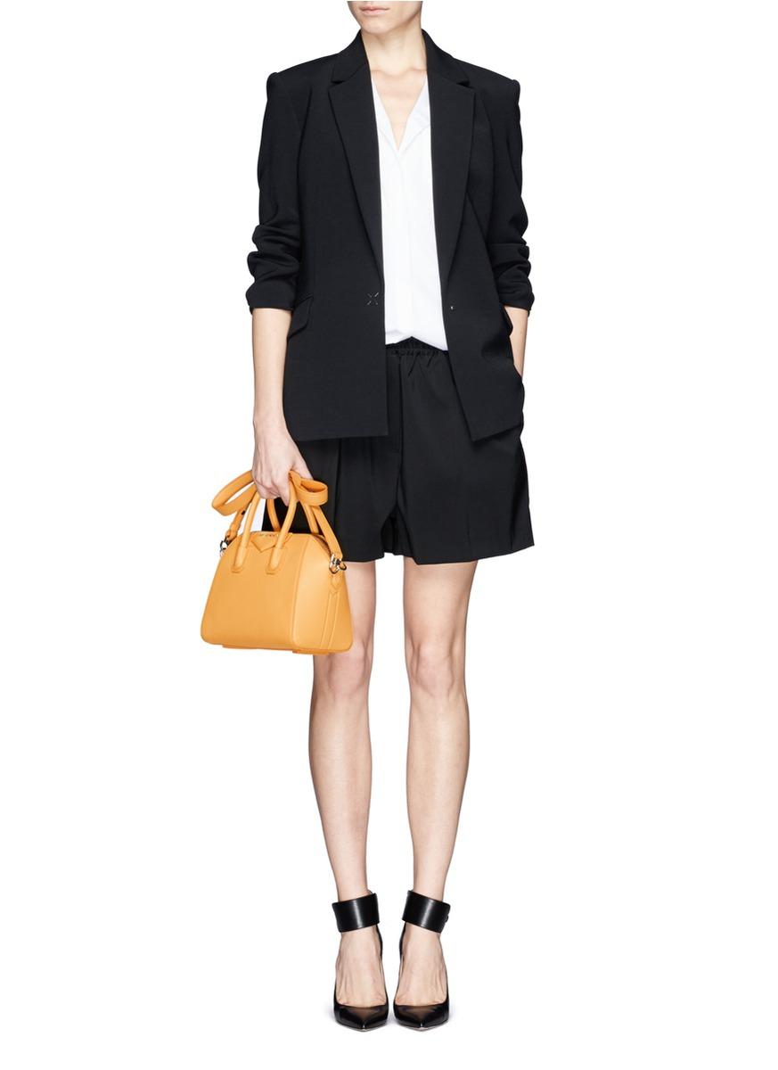 ef5cda6971 Givenchy  antigona  Mini Leather Bag in Yellow - Lyst