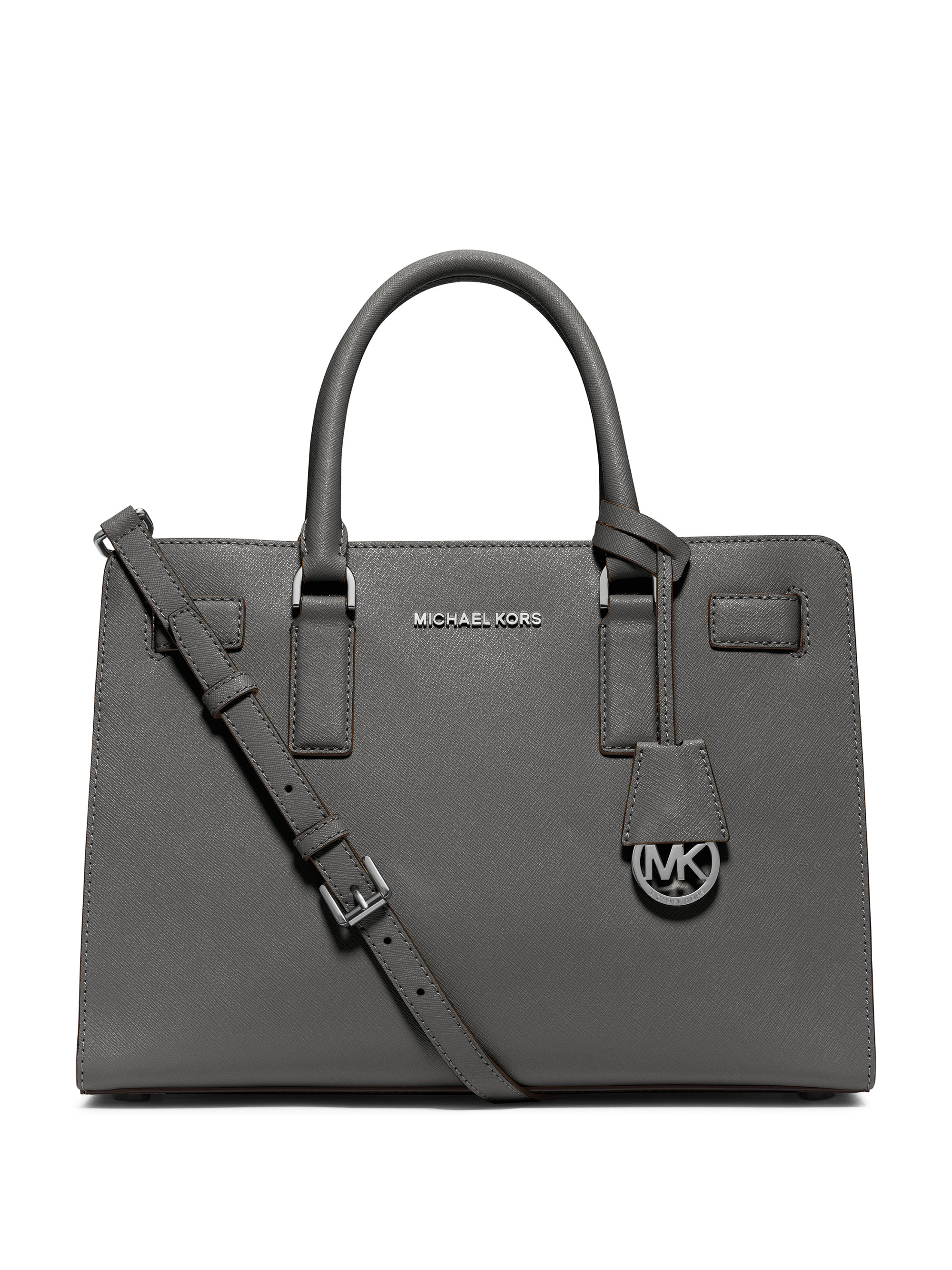 dd03dff80257 Lyst - MICHAEL Michael Kors Dillon Large Saffiano Leather Satchel in ...