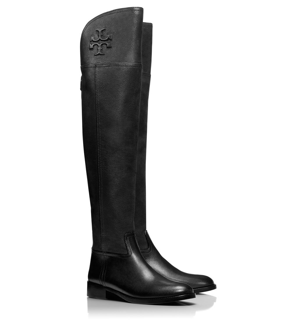 d09fa7a6b Lyst - Tory Burch Simone Over-The-Knee Boot in Black