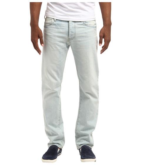 Armani jeans Bleached White Wash Regular Fit Denim in Blue for Men ...