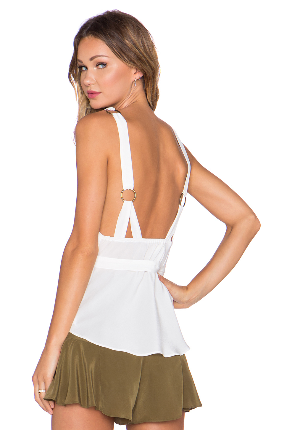 e96d4837e1 Lyst - Stone Cold Fox Eddy Tank in White