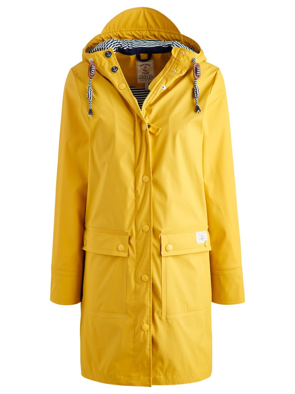 Joules Seafarer Waterproof Rubber Mac In Yellow Lyst