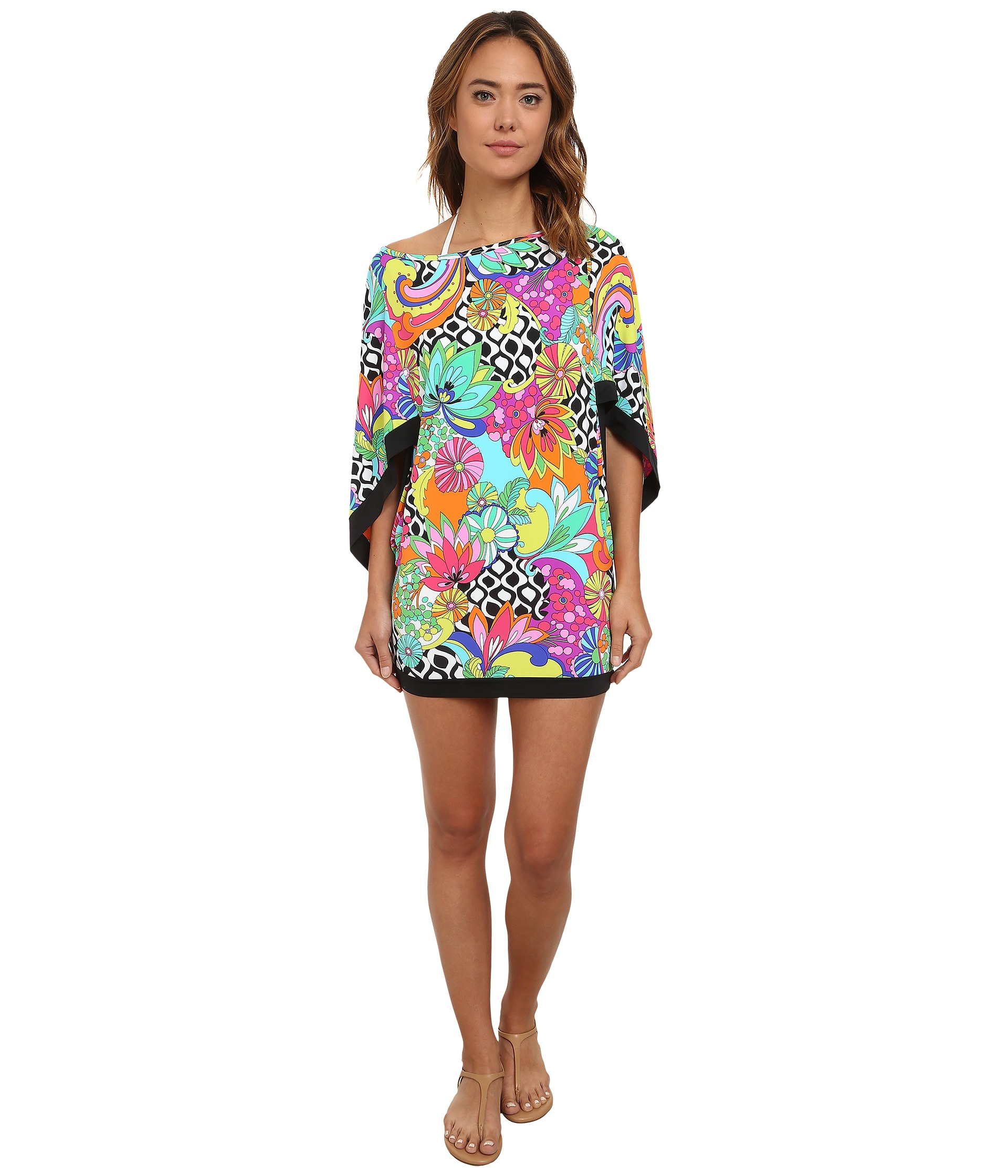 04919afad5e83 Lyst - Trina Turk Balboa Tunic Cover-up