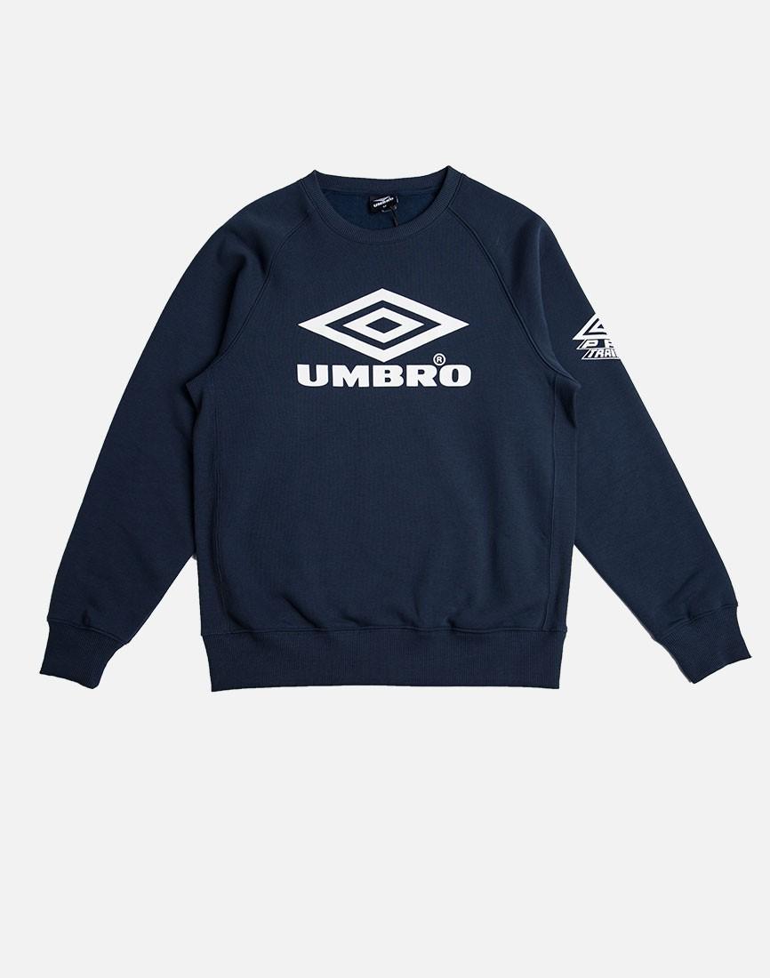Lyst Umbro Classic Crew Sweatshirt Navy In Blue For Men