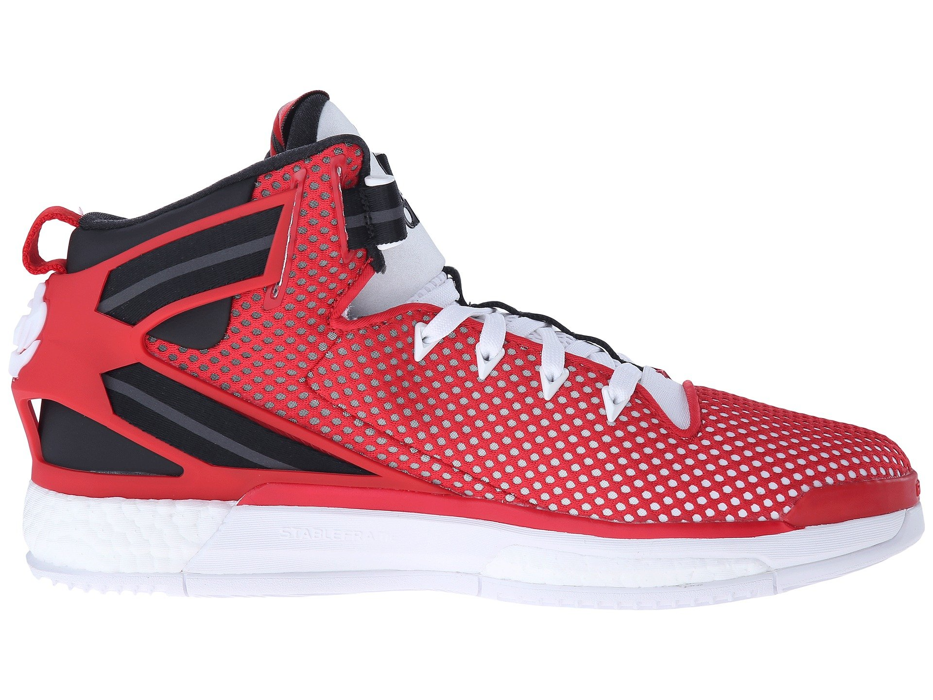180ec636ec8ad1 Lyst - adidas Originals Derrick Rose 6 Boost in Red for Men