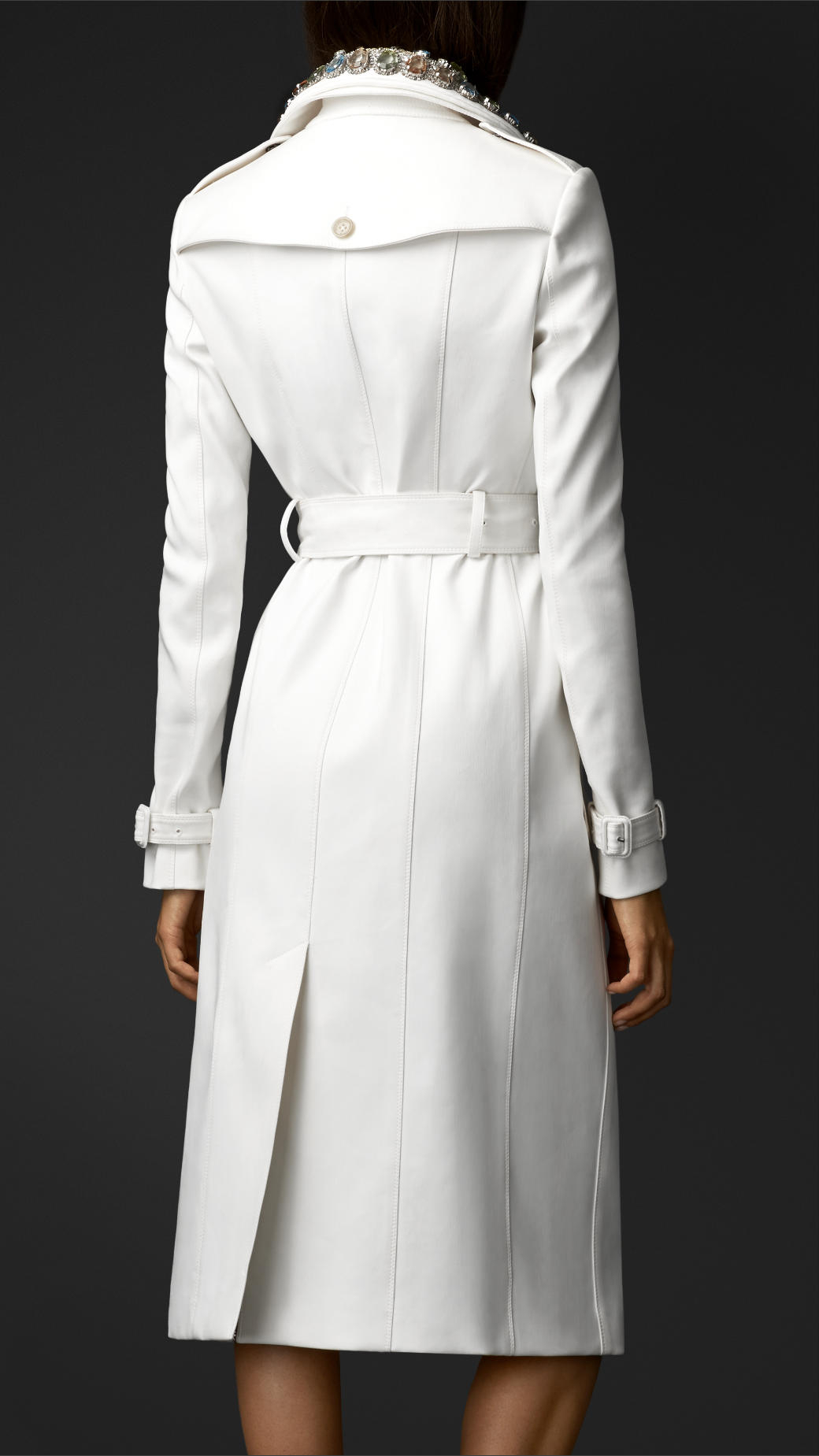 White trench coat women