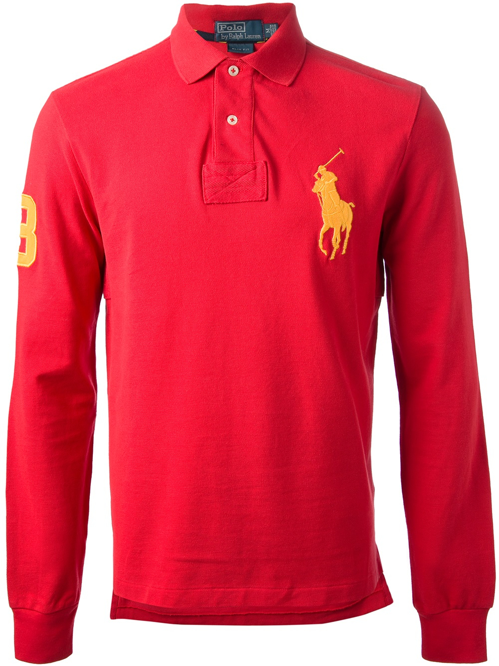 37048c382 Ralph Lauren Blue Label Big Pony Polo Shirt in Red for Men - Lyst
