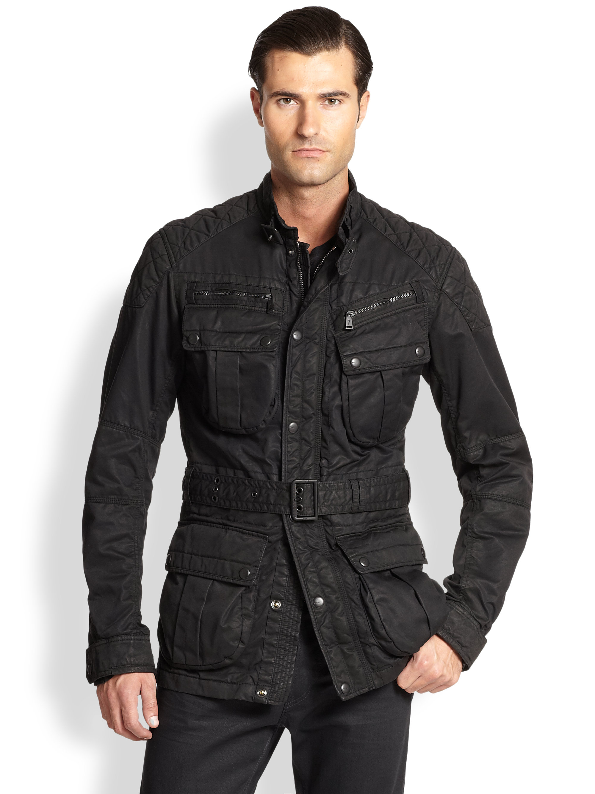 Ralph Lauren Black Label Suspension 4 Pocket Jacket In