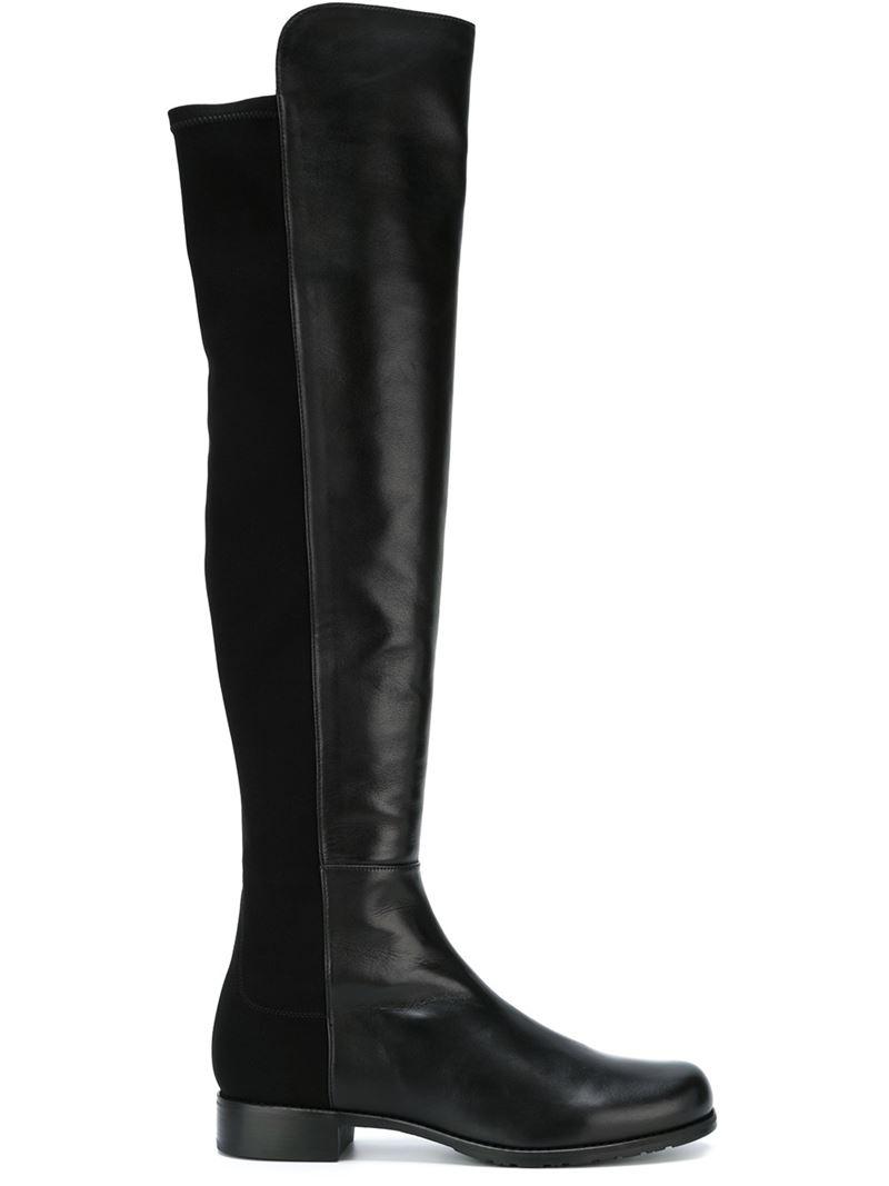 stuart weitzman thigh high boots in black lyst