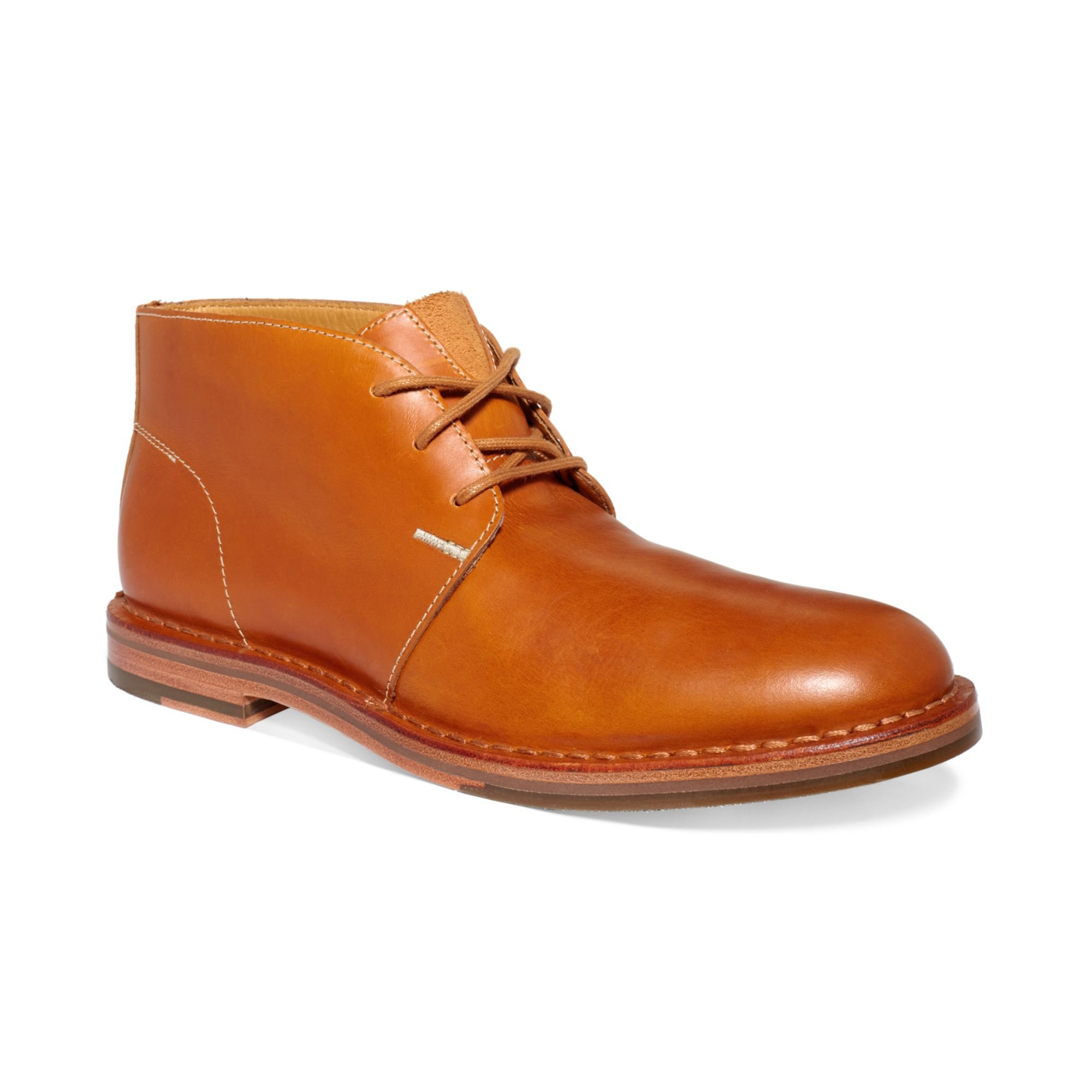 Cole Haan Glenn Chukka Boots In Brown For Men (Camello