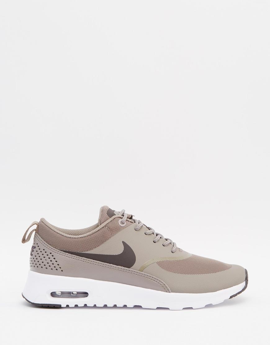 Nike Air Max Thea White Platinum Trainers