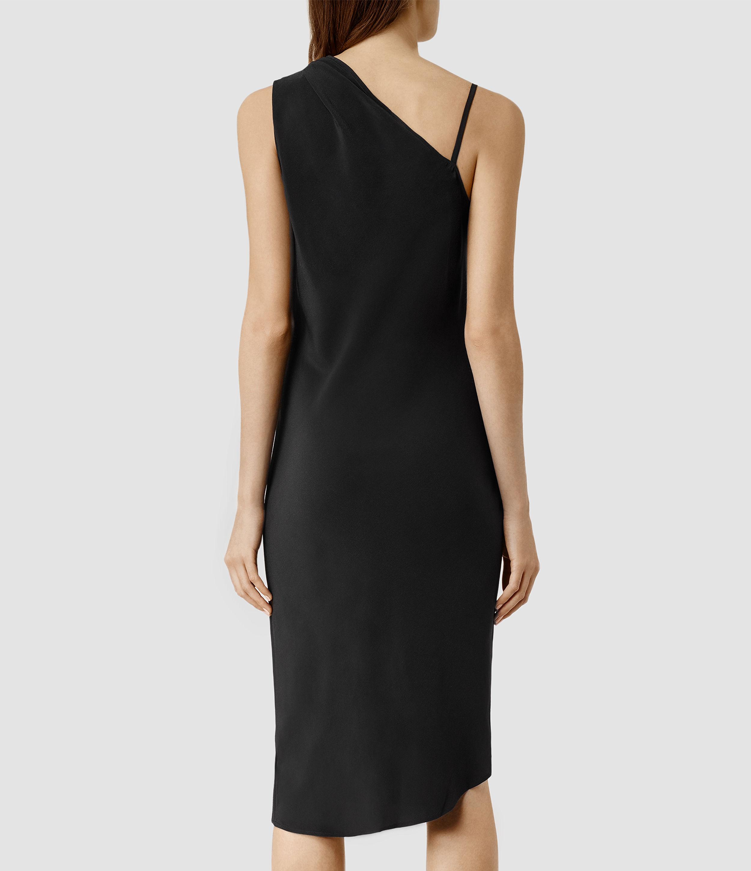 Allsaints Precie Dress in Black