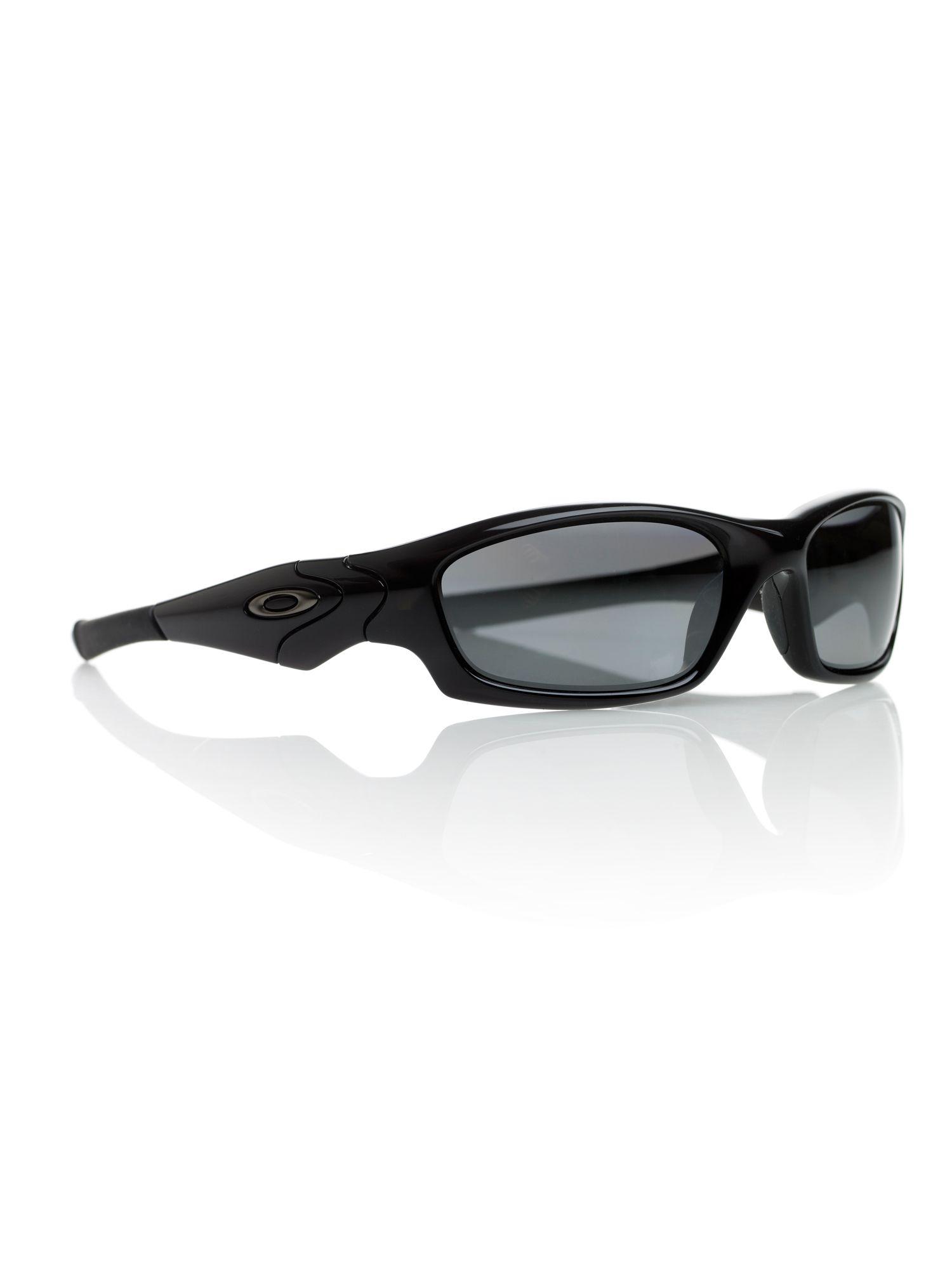 Oakley Mens Straight Jacket Sunglasses in Black for Men | Lyst