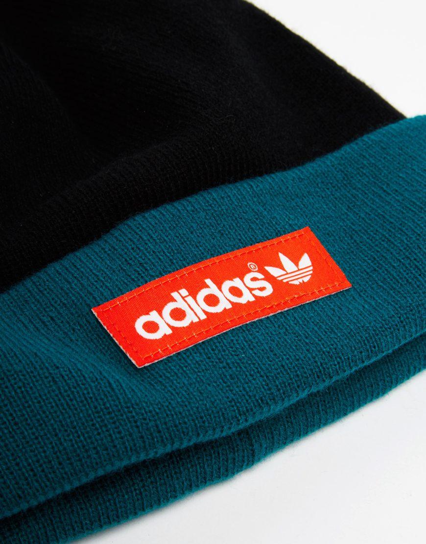 7cf3ce777594ea ... hat 75f3f 08d55 reduced lyst adidas originals bobble beanie in green  for men f4dc3 7d54a wholesale adidas originals logo ...