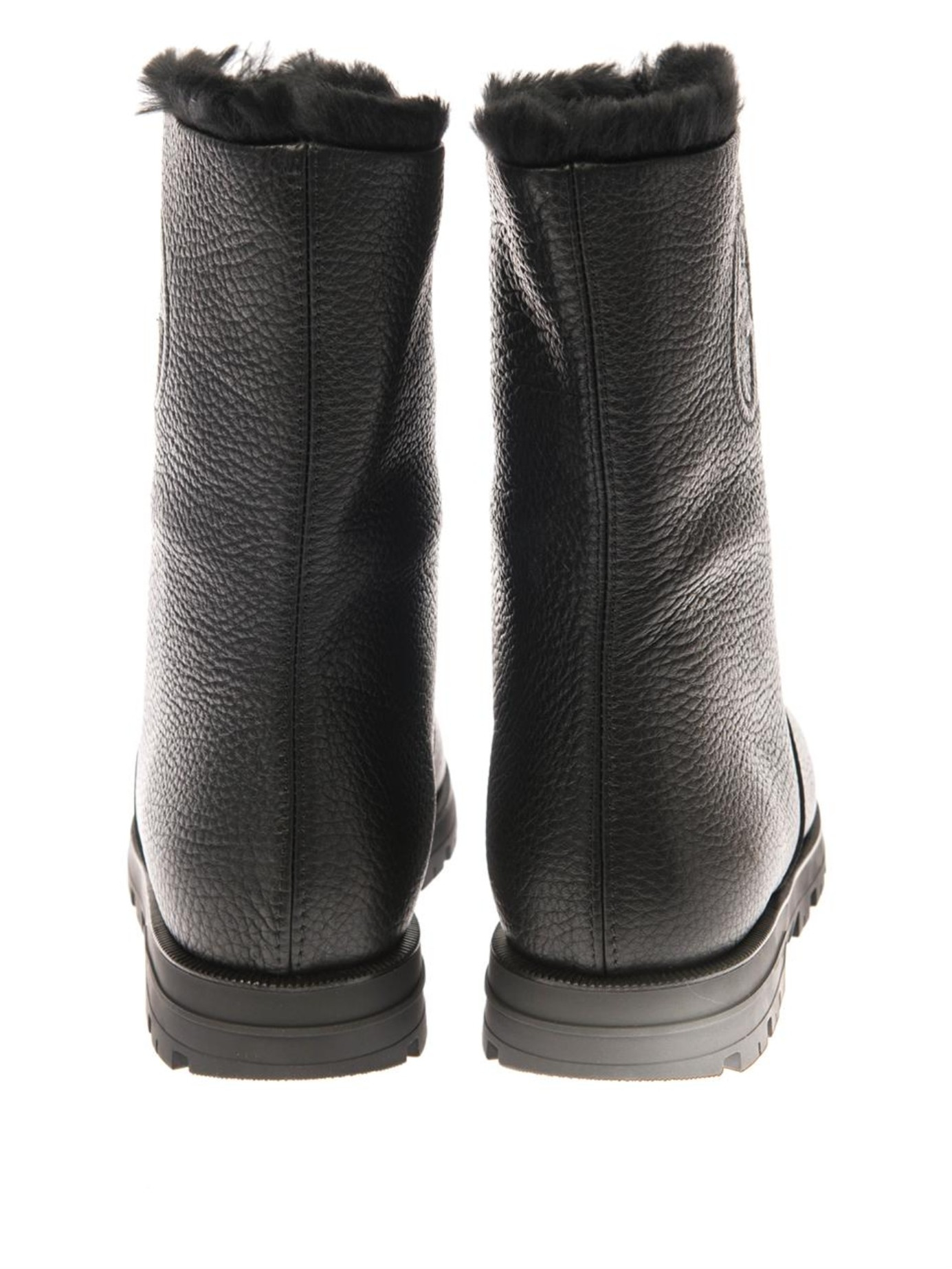 4a003185d Men's Gucci Boots With Fur | The Art of Mike Mignola