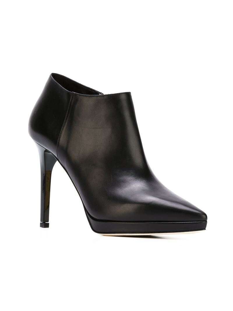 abf23e234684 Lyst - Jimmy Choo  lindsey 100  Ankle Boots in Black