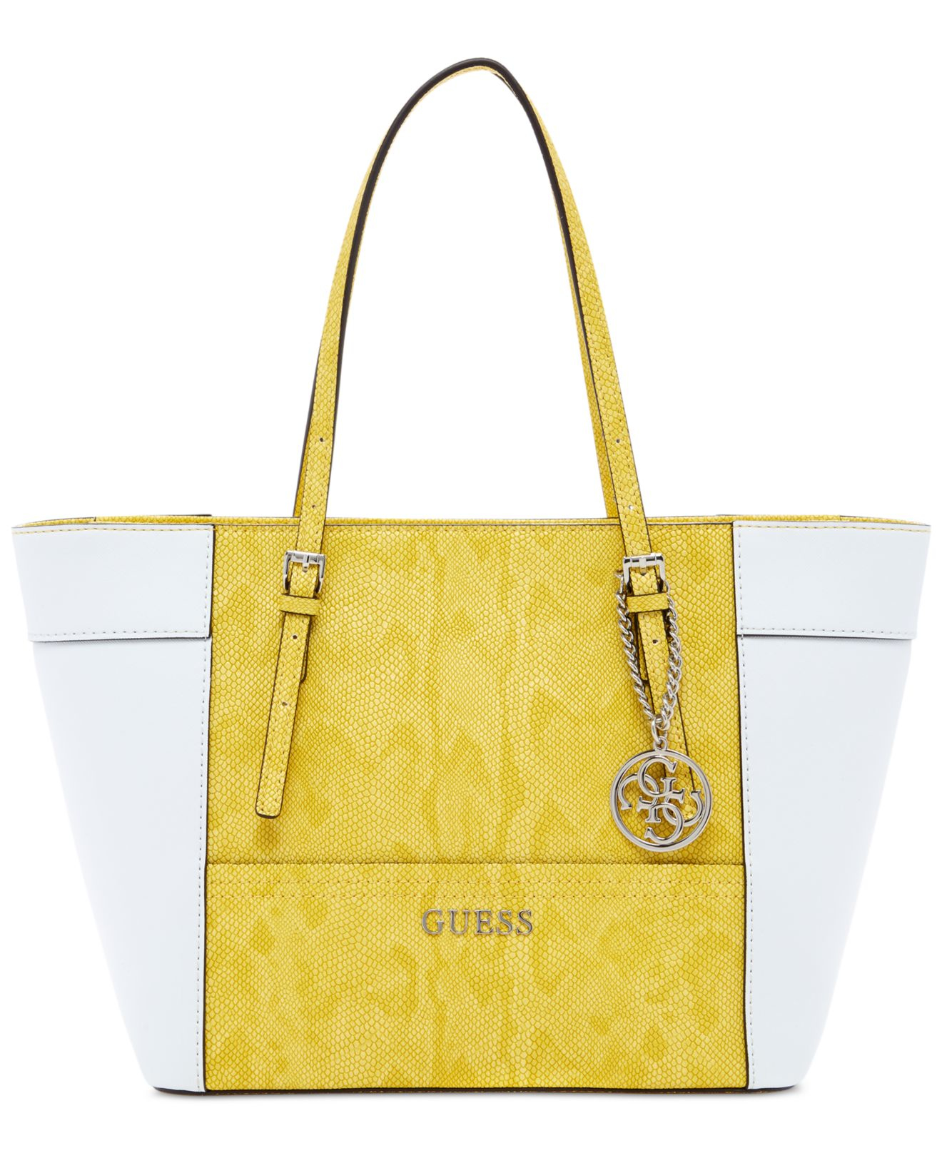 Lyst Small Tote In Delaney Yellow Guess Classic rEw0rq