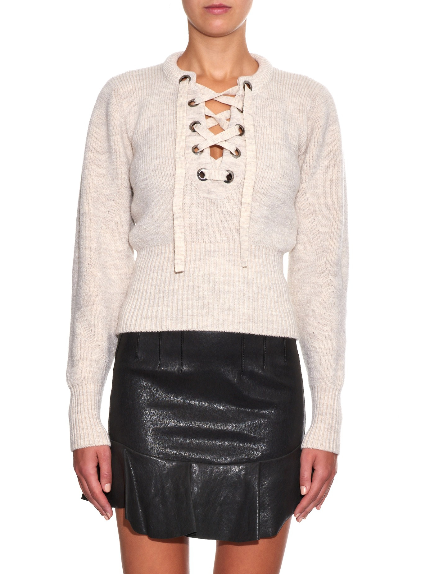 Lacy jumper - White Isabel Marant Release Dates Sale Online GSOgCWJv9z