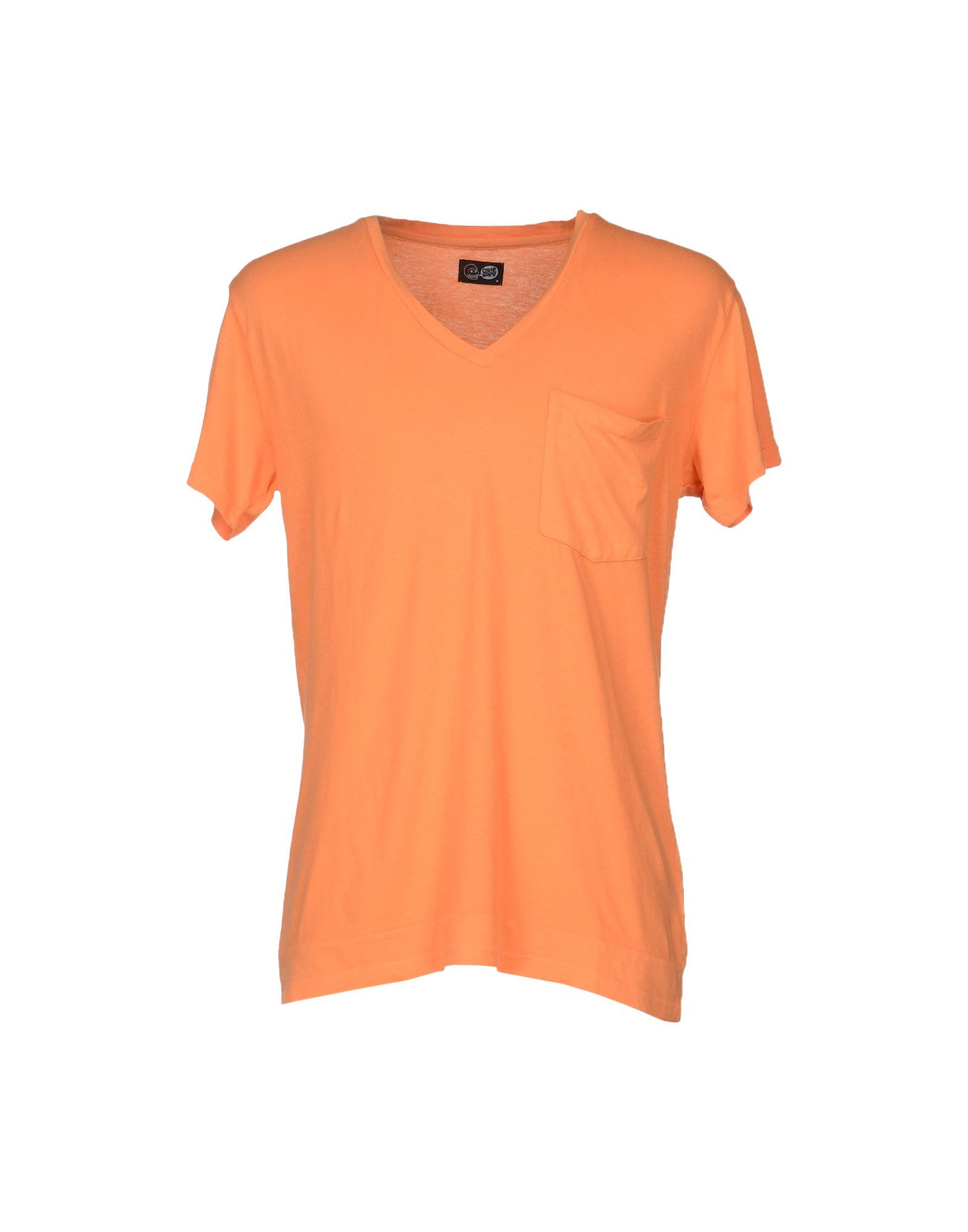 cheap monday t shirt in orange for men lyst