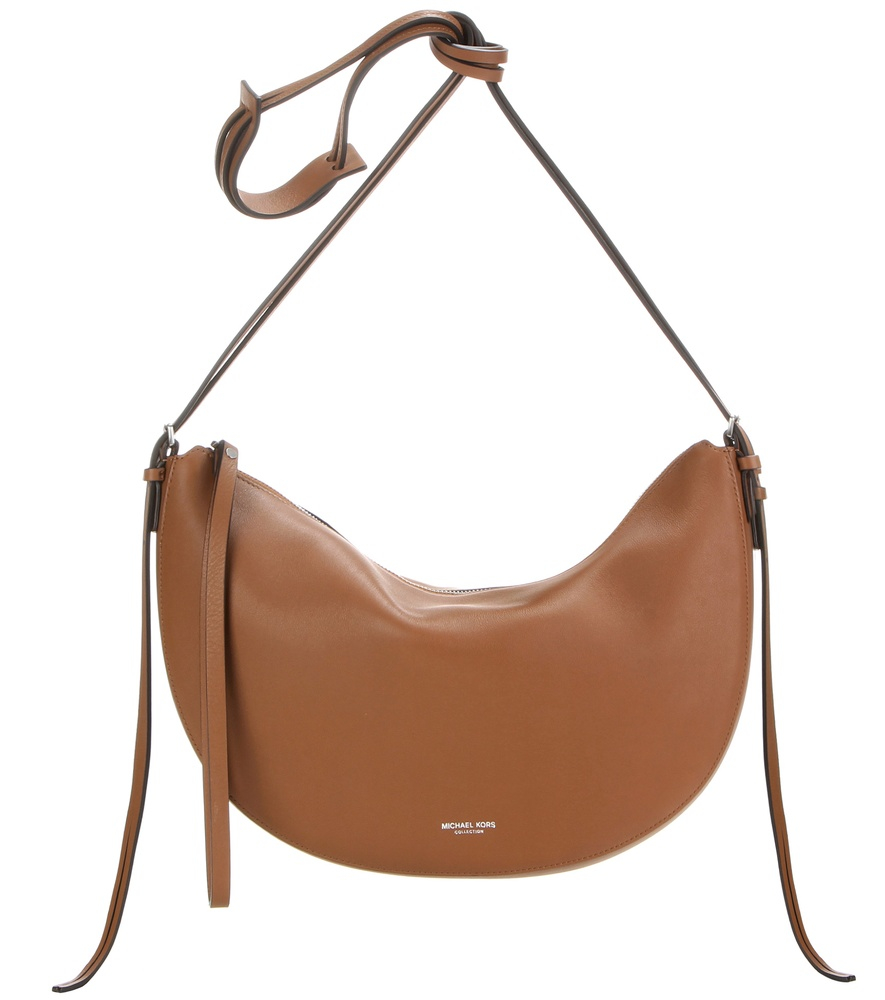 a5c9c7ab2dce ... where can i buy lyst michael kors sedona medium leather shoulder bag in  brown 44c25 bd1b4