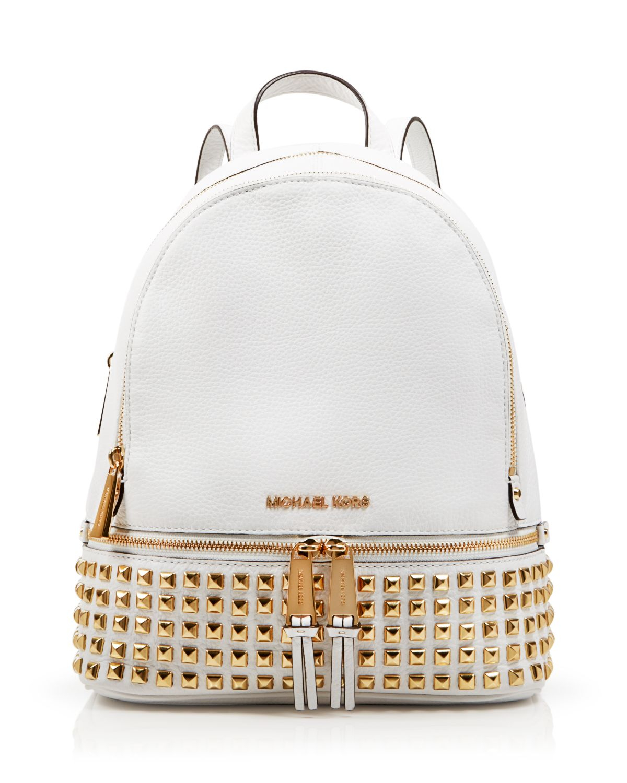 b23389b46bed ... usa lyst michael michael kors backpack bloomingdales exclusive 2da3a  2bfff