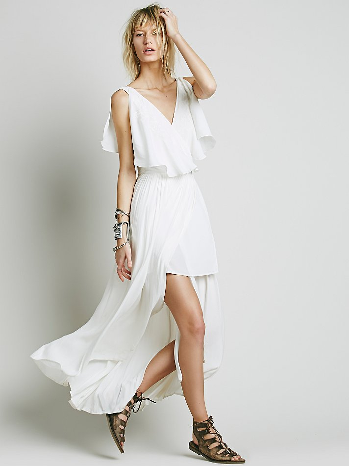 Lyst Free People Fiona S Maxi Dress In White