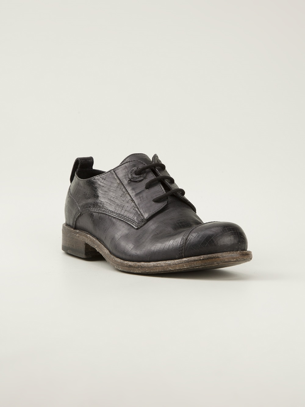 Black Oxford Work Shoes