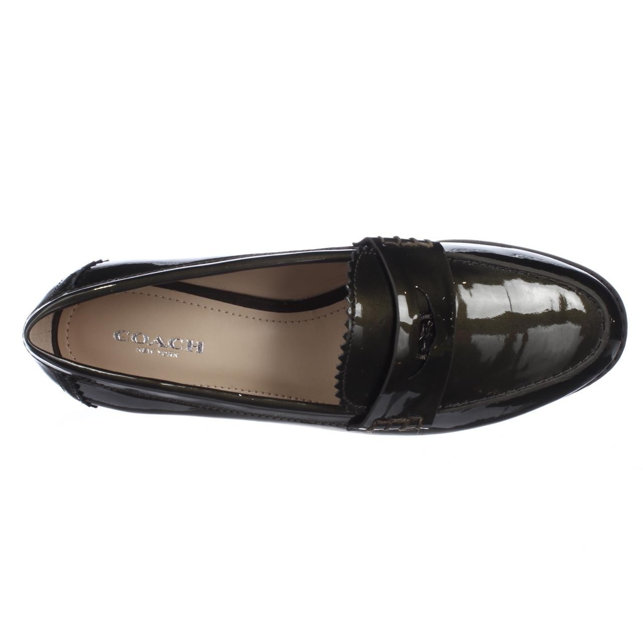 Coach Peyton Loafer Flats In Green Lyst