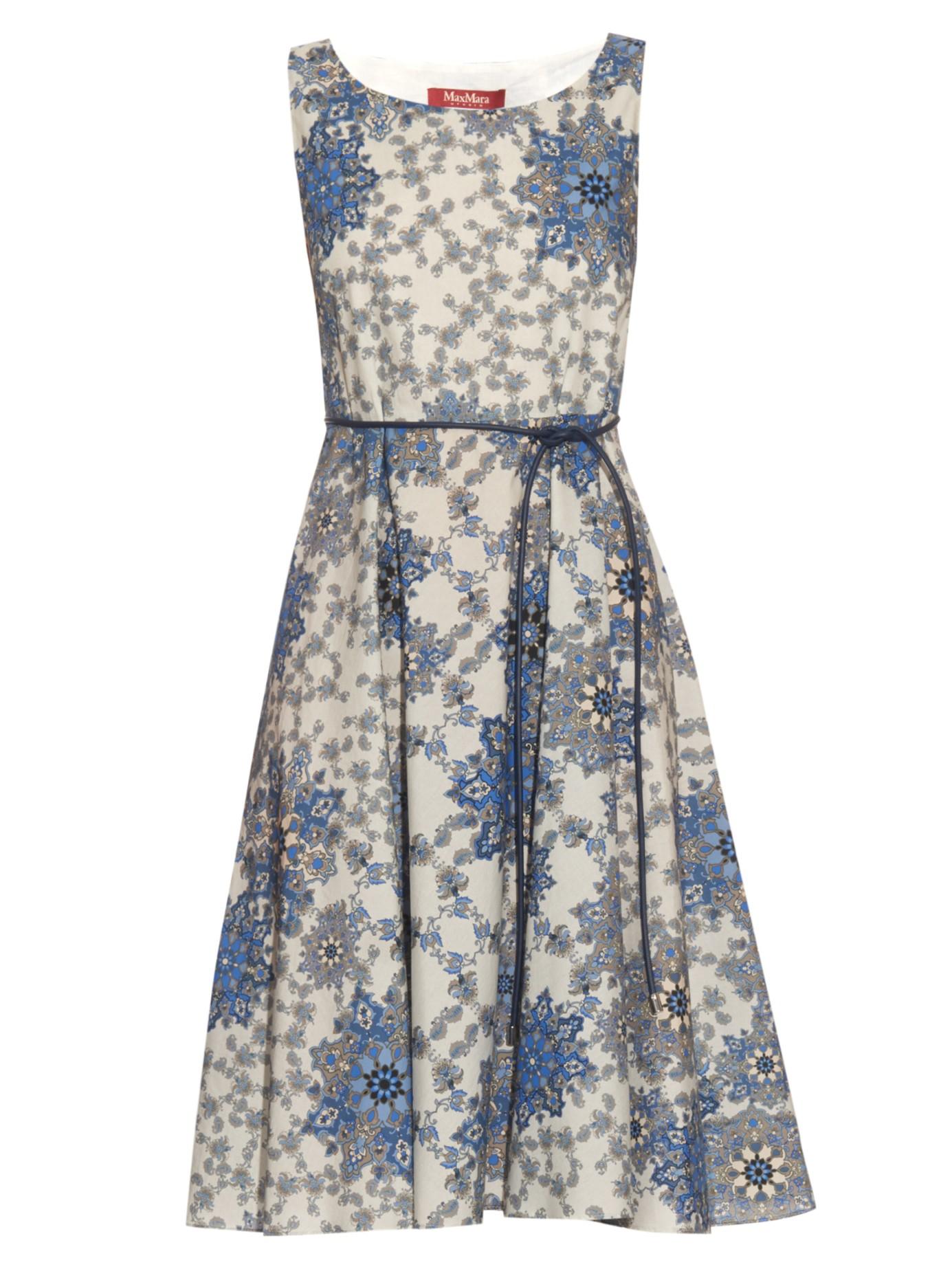 e460758bdae00 Max Mara Studio Maresca Dress in Blue - Lyst