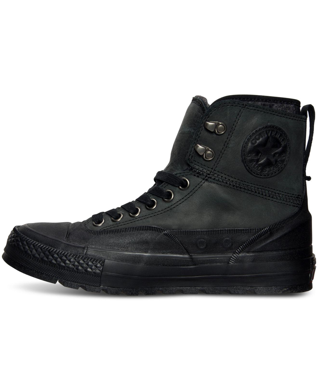 Lyst - Converse Men s Chuck Taylor All Star Tekoa Boots From Finish ... a3f6fddb7