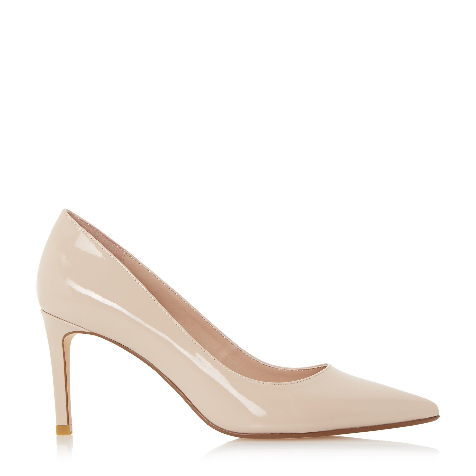 Nude Shoes Mid Heel - Is Heel