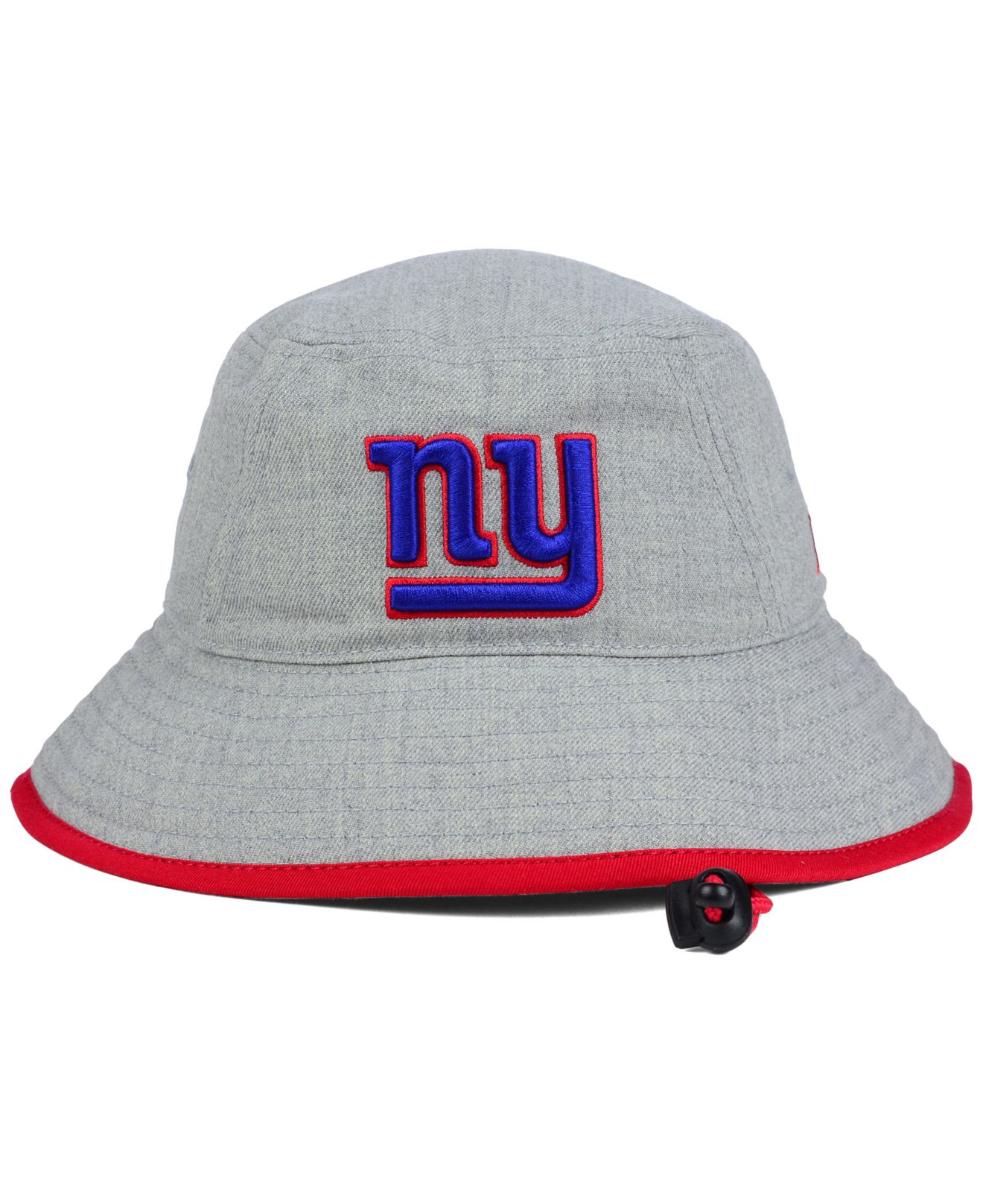 749a2fe3d0c32a ... purchase lyst ktz new york giants nfl heather gray bucket hat in gray  5d1f1 8f530 ...