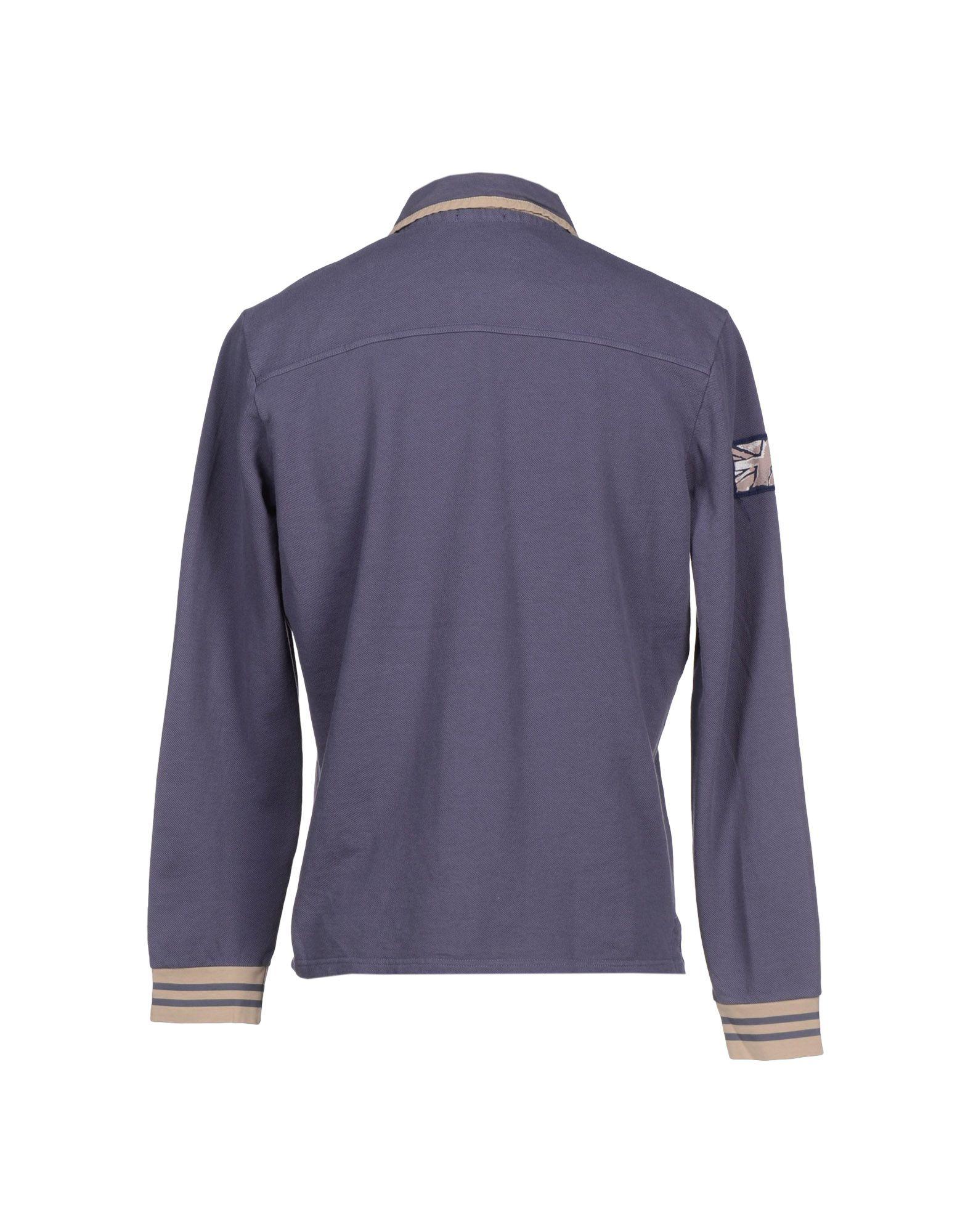 pepe jeans polo shirt in blue for men slate blue lyst. Black Bedroom Furniture Sets. Home Design Ideas
