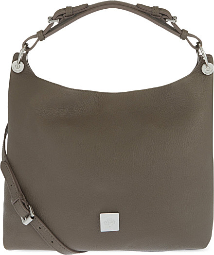 62c8e4dd22d9 ... coupon mulberry freya small leather hobo bag in brown lyst 293e9 d1cfd