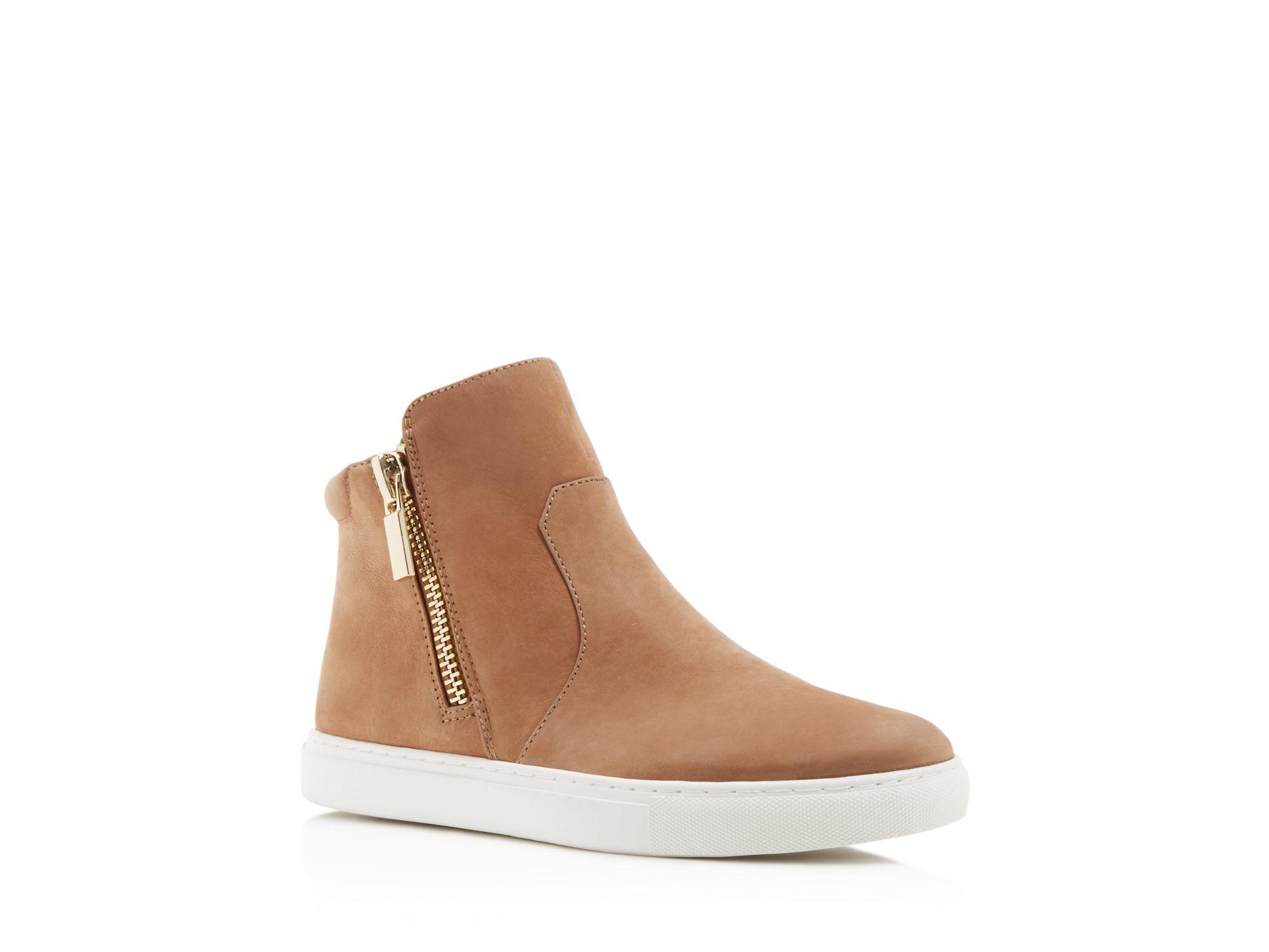 Kenneth Cole Kiera Side Zip High Top Sneakers tuIykBbj