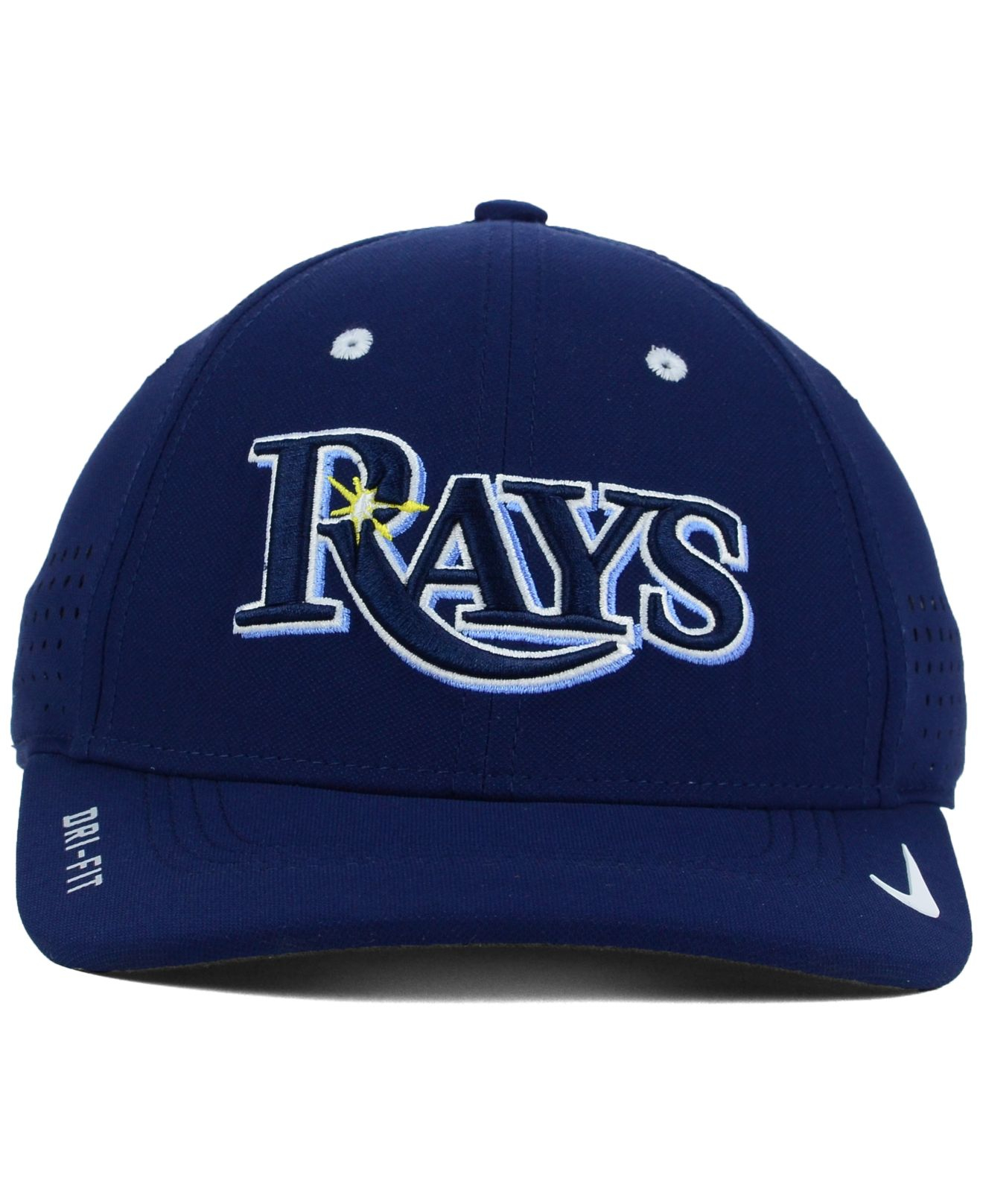size 40 cc19f 6170f ... where can i buy lyst nike tampa bay rays vapor swoosh flex cap in blue  for