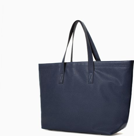 Shopper Bag Zara Zara Oversized Shopper Bag