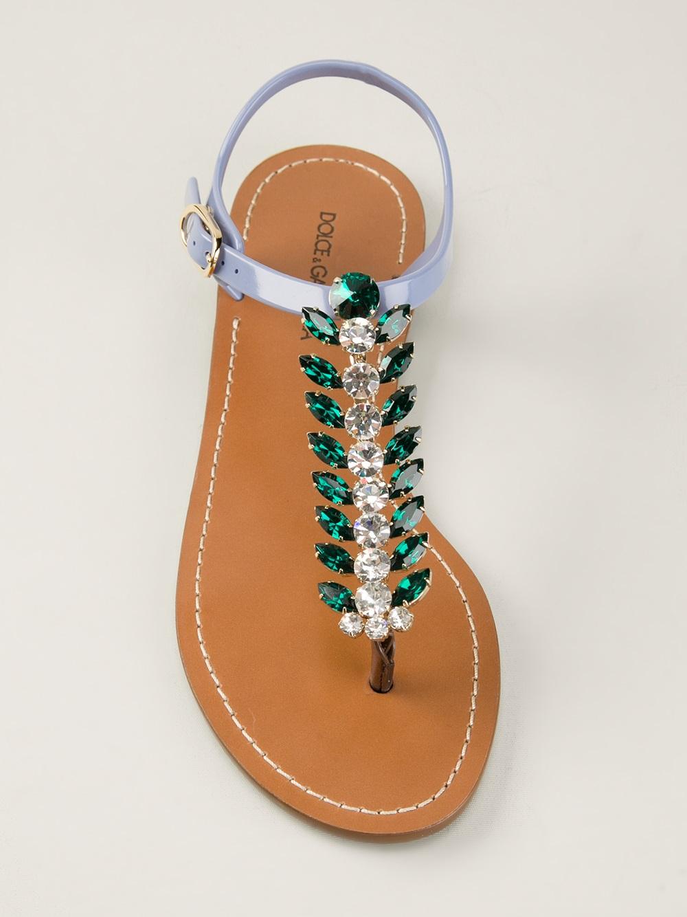 Dolce & Gabbana Sandales Entredoigt J3gpRdI