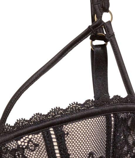 Sequin Bra H&m H&m Lace Balconette Bra in