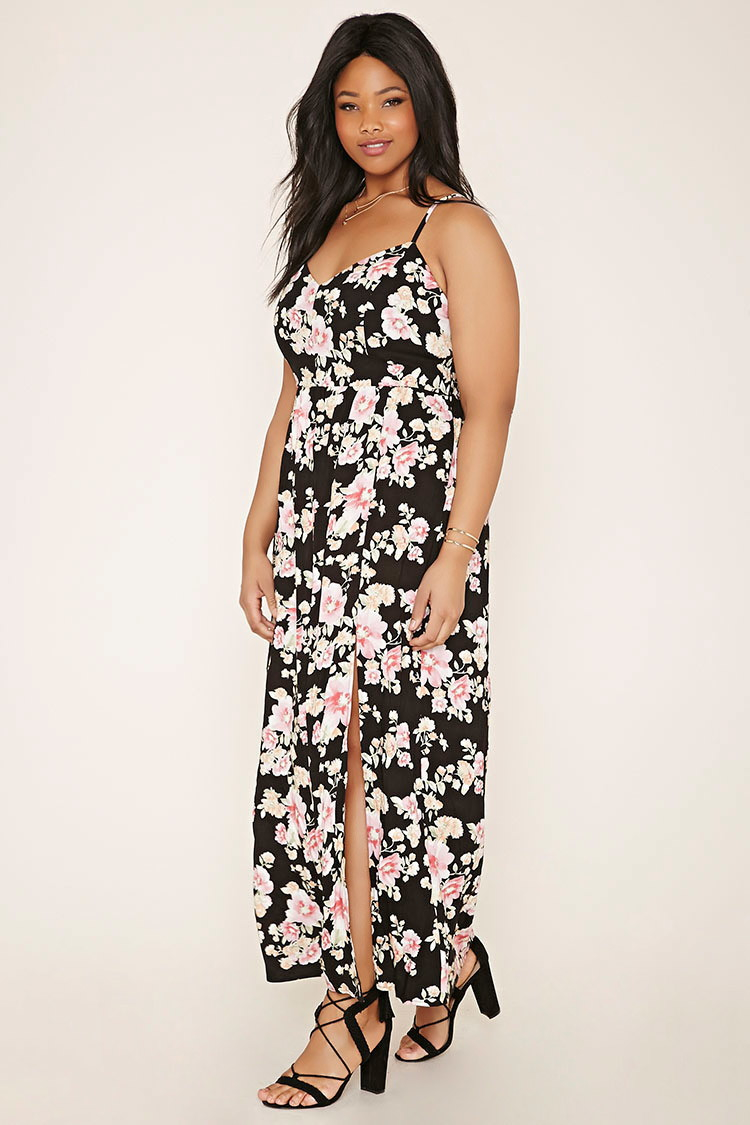 575e5aed081 Plus Size Floral Maxi Dress Forever 21 - Data Dynamic AG