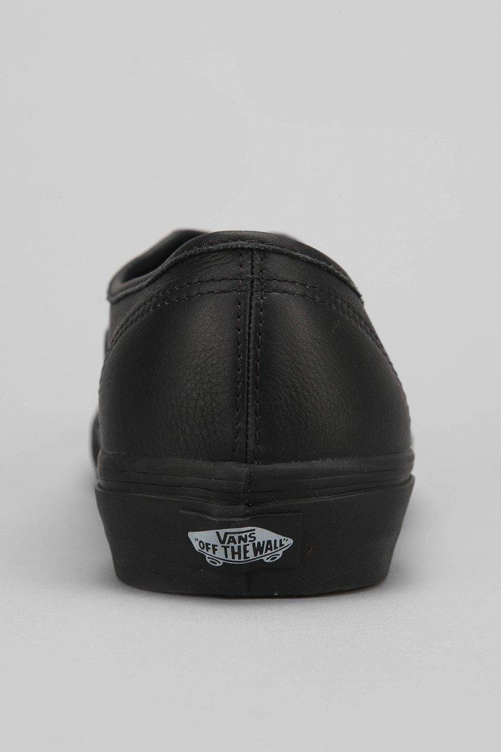 vans authentic italian leather