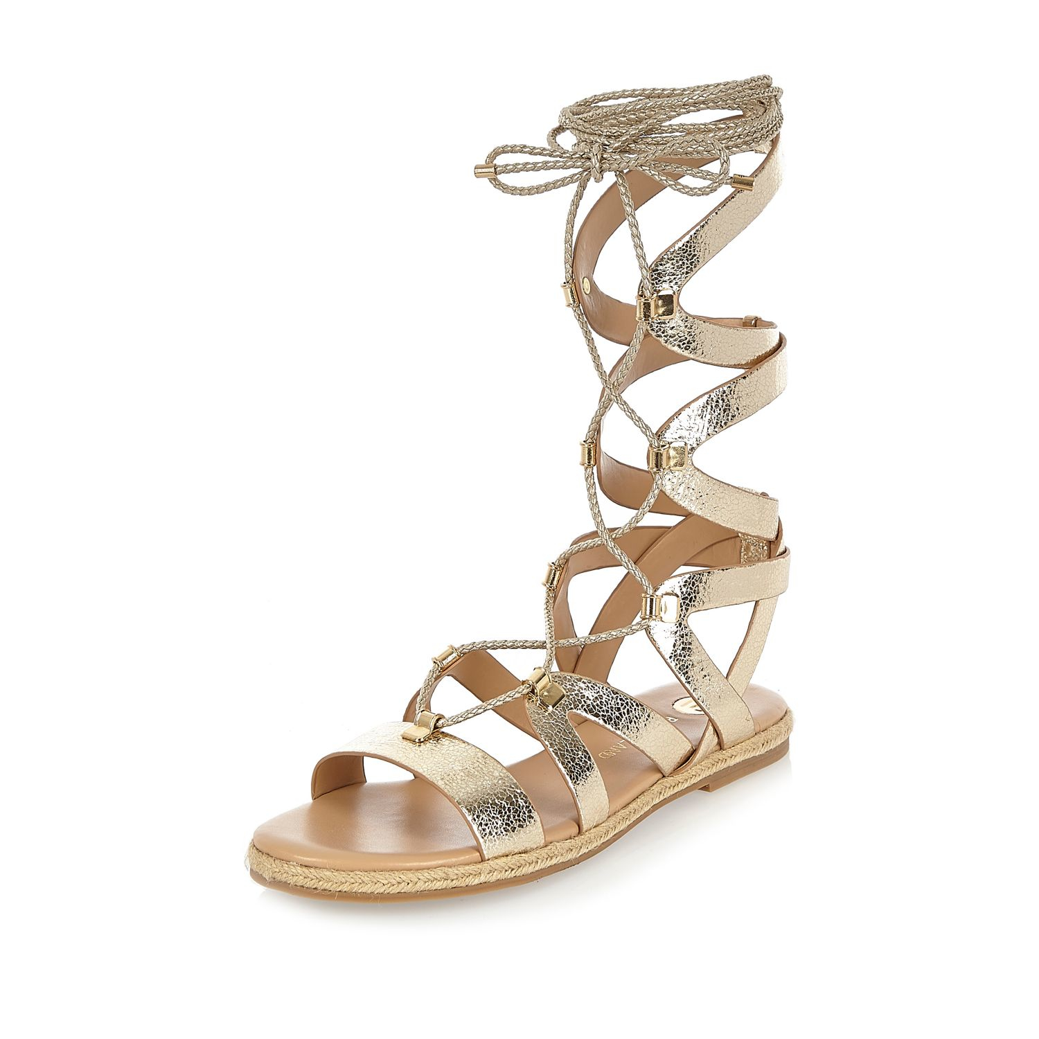 Gallery. Women s Lace Up Flats Women s Gladiator Sandals Women s Gold ...