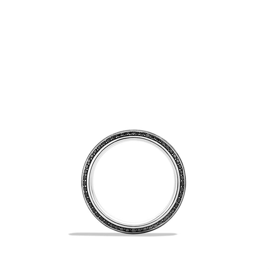 Lyst David Yurman Knifeedge Band Ring With Meteorite And